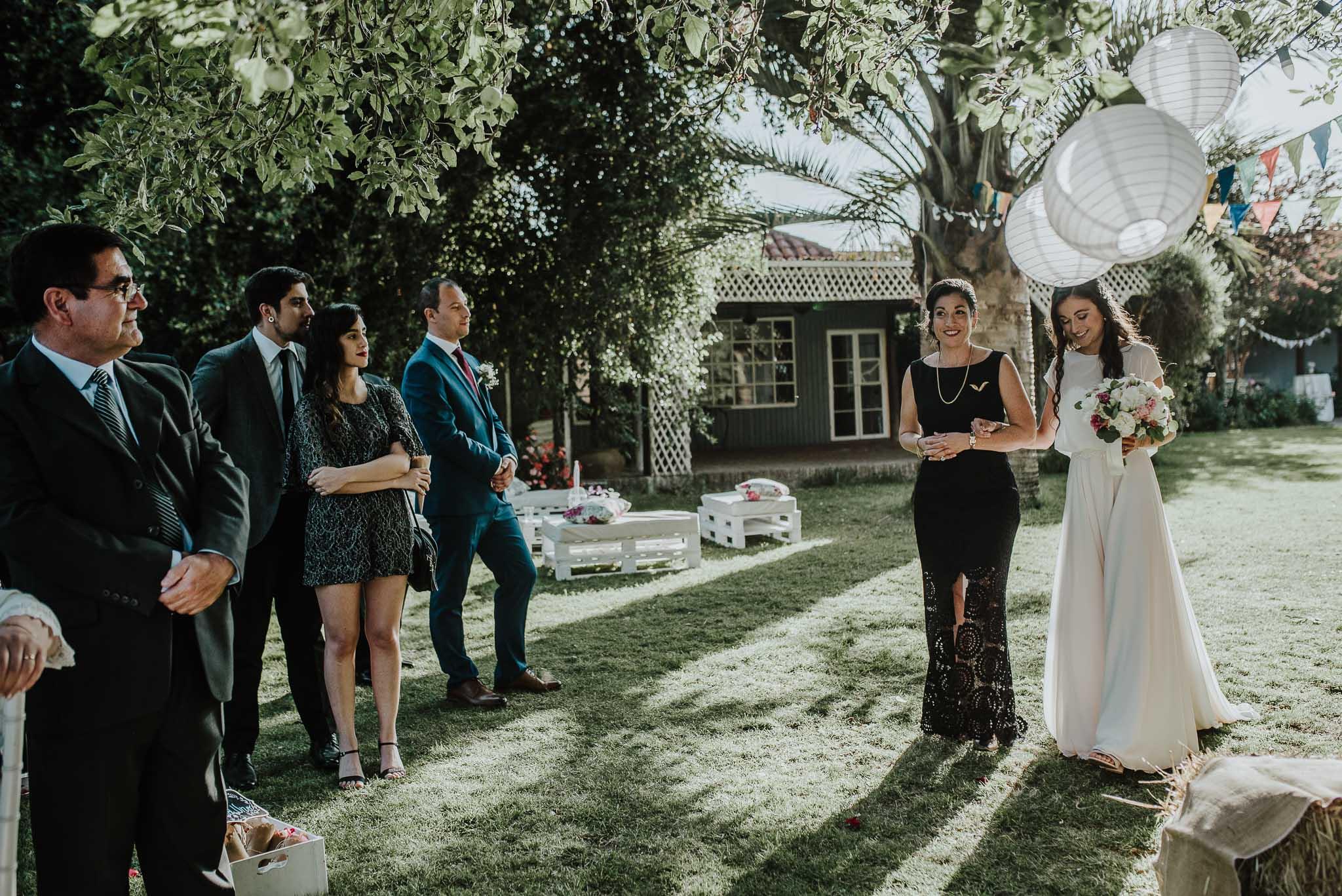 ceremonia-casa de campo fuller-vestido de novia
